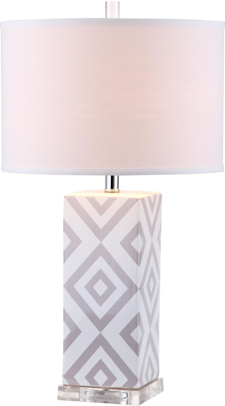 """Nalani 27"""" H Table Lamp with Drum Shade"""