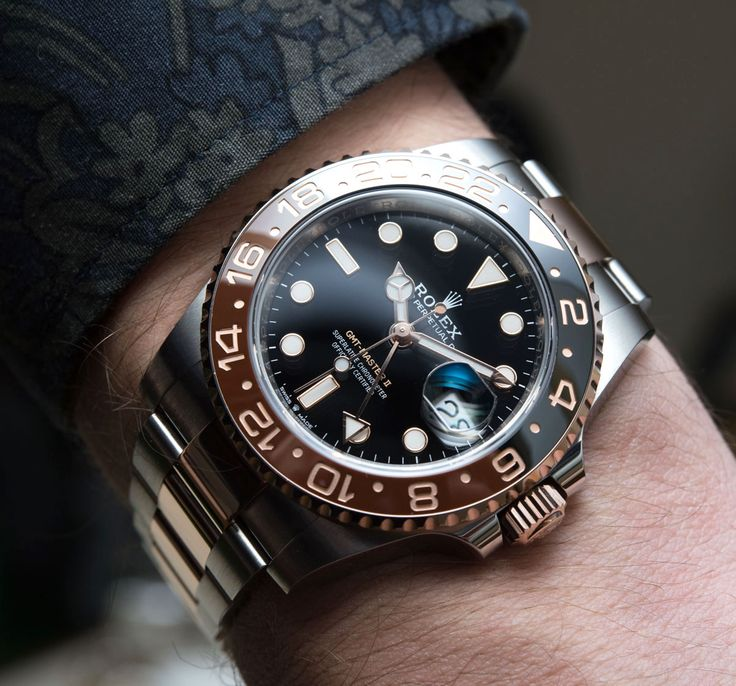 Rolex GMT-Master II 126711CHNR 'Root Beer' Watch Hands-On #baselworld2018 #baselworldabtw