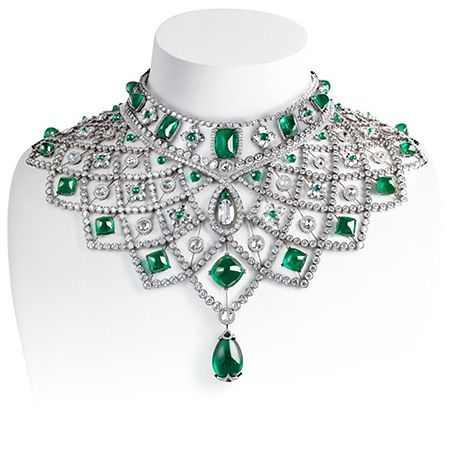 Romanov necklace by Faberge. Beyond Gorgeous!Emeralds, Faberge Eggs, Romanov Necklaces, Collars, Fabergé, Jewelry, White Diamonds, Jewels, Diamonds Necklaces