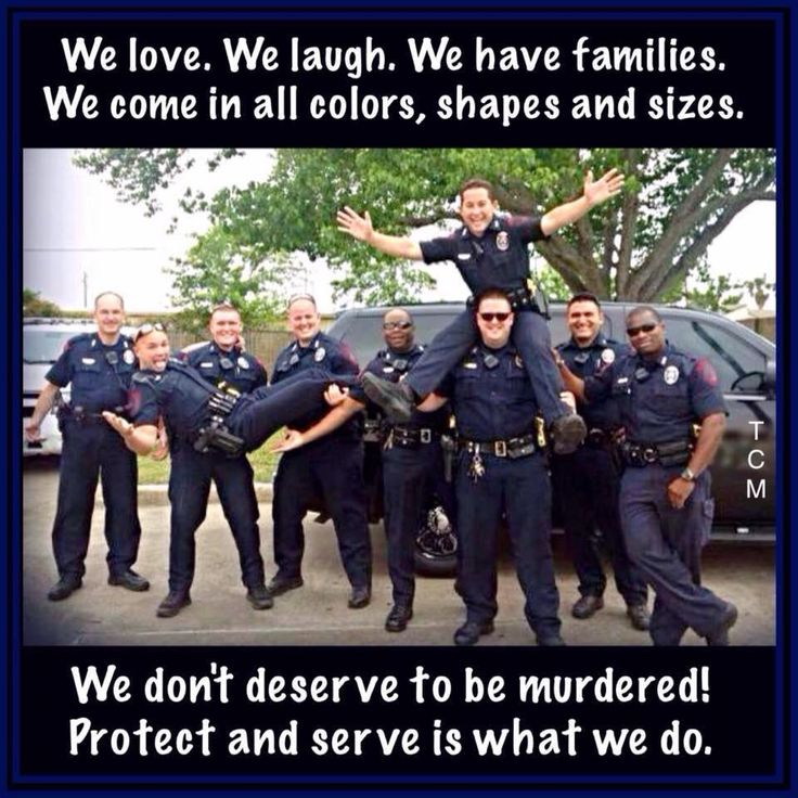 Treat cops with respect. Their job is to protect and serve.
