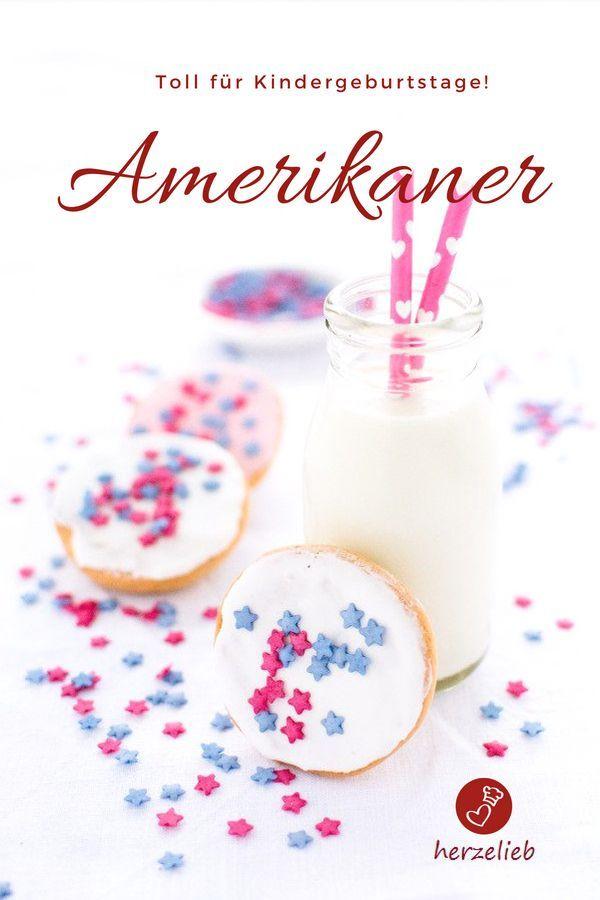 Amerikaner Rezept Fur Kleine Mini Kuchen Rezept Herzelieb