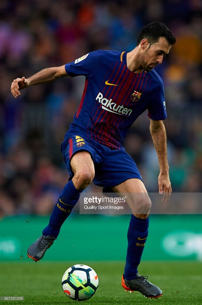 Action The Liga Match Barcelona In La Of Sergio Busquets During DI29eHYEW