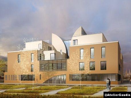 Le Courrier de l'Architecte | 'Cité de la Musique et de la Danse - Henri Gaudin architecte', à Soissons