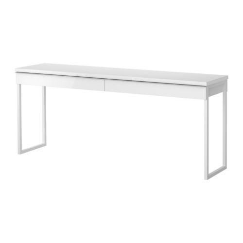 BESTÅ BURS Escritorio IKEA Gracias al gran tablero de la mesa, pueden trabajar cómodamente dos personas.