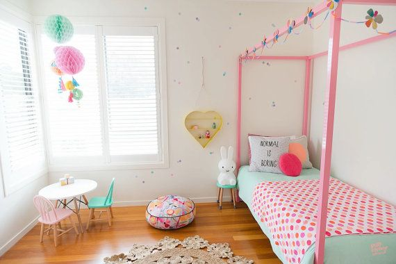 love that kids table and of course, miffy light. Vinyl Wall Sticker Decal Art  Mini Pastel Confetti by urbanwalls