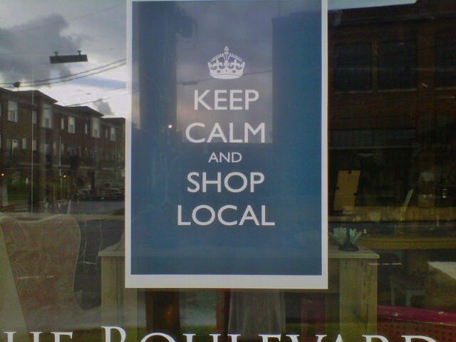 Help support local made and local sold and local owned!