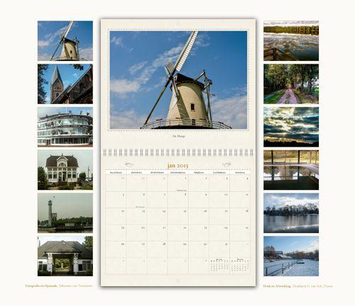 Kalender van Haren met mooie foto's van Johannes van Timmeren. www.drukkerijvanark.nl