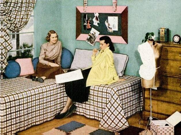 Dorm Room Decor, 1948. Part 55