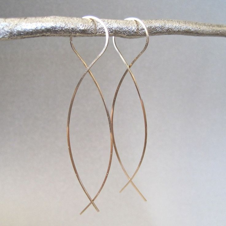 Twist Earrings: Jewelry Art, Twists, Recipes, Jewelry Shop, Products, Shop Earrings, Twist Earrings I, Tangerine Jewelry