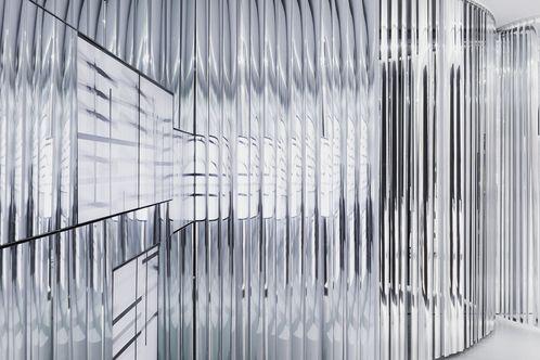 chrome corrugated