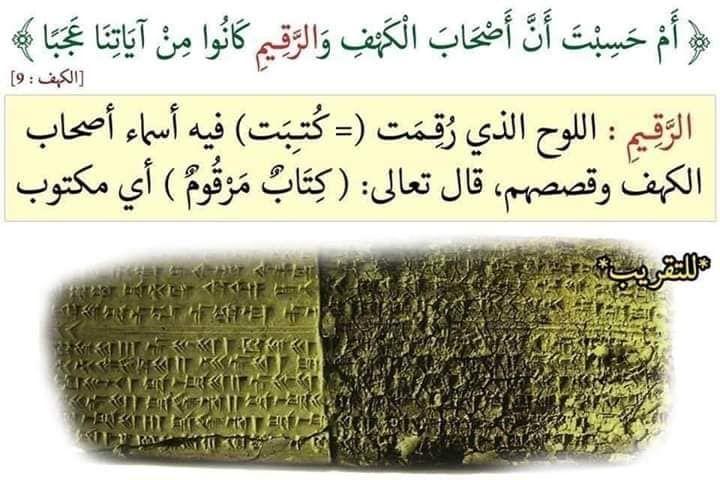 سورة الكهف الاية 9 أم حسبت أن أصحاب الكهف والرقيم كانوا من آياتنا عجبا Holy Quran Quran Tafseer Islamic Pictures
