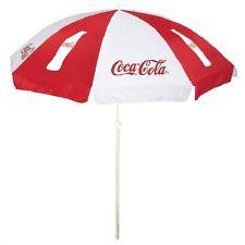 Coca Cola Coke Beach Umbrella New Cocacola Cola Coca Cola Coke