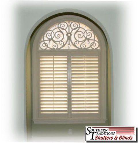 half+round+window+treatments | Half Arch Window Treatments http://www.shutters4u.com/iron-art/arches ...