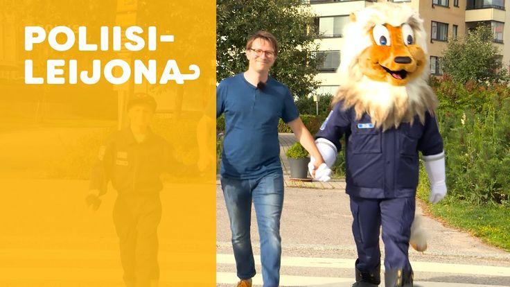 Poliisileijona: Suojatie (video 1:58).