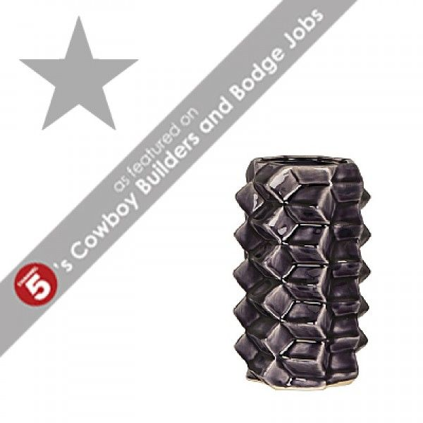 3D Small Purple Ceramic Vase *AS FEATURED ON CHANNEL 5's COWBOY BUILDERS & BODGE JOBS*