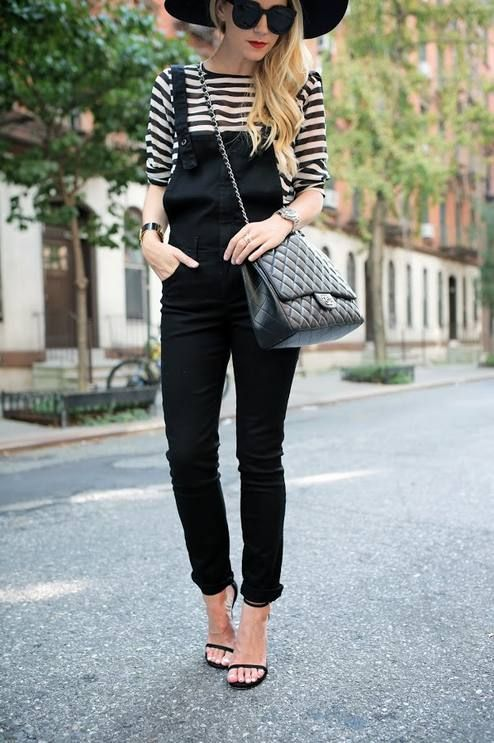 Black And White Nautical Striped Jersey