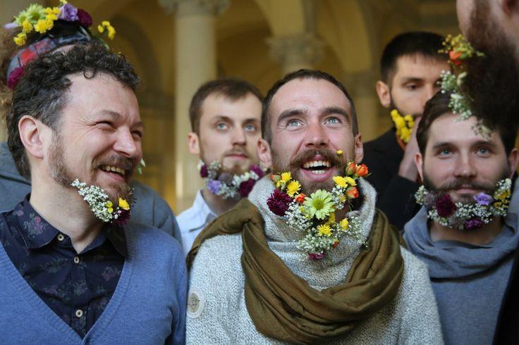 #hairfucker #beard #eco #spb #Russia #flowers  worked on the project #sofiya_hairfucker #Aleonahairs #викаглу