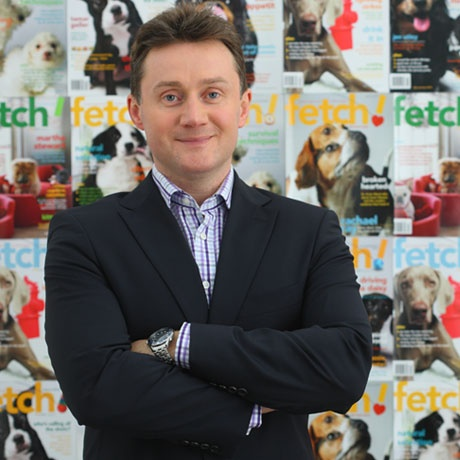 "Chris Ashton, ""The Left Brain"" (AKA Petplan pet insurance Co-Founder and Co-CEO)"