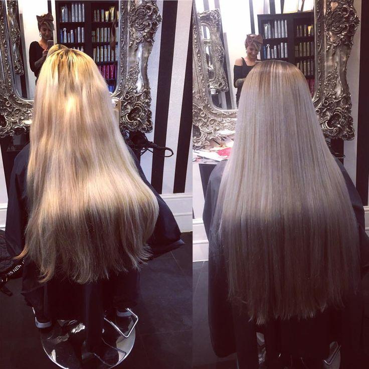 Salon goals! Belle Toujours, Cardiff, Wales, UK. www.belletoujours... #Salon #Luxury #Blackandwhite #black&white #salongoals #Hair #beauty #parisinspired #Cardiff #wales #design #Paris #hairdressing #belletoujours #2016 #spa #barber #stylist #colour #color #decorating #decor #chandelier #mirror #hairextensions #extensions #greatlengths