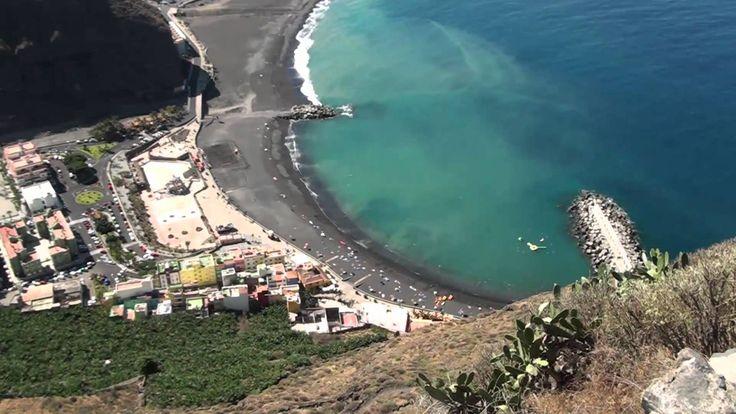 Der Strand von Tazacorte - La Palma - Kanarische Inseln La Palma 24 - Ferienunterkünfte und Mietwagen http://www.la-palma24.net
