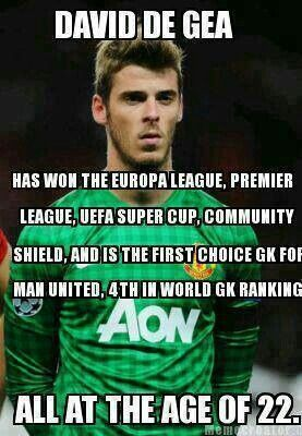 Manchester United - David De Gea Quintana Goalkeeper