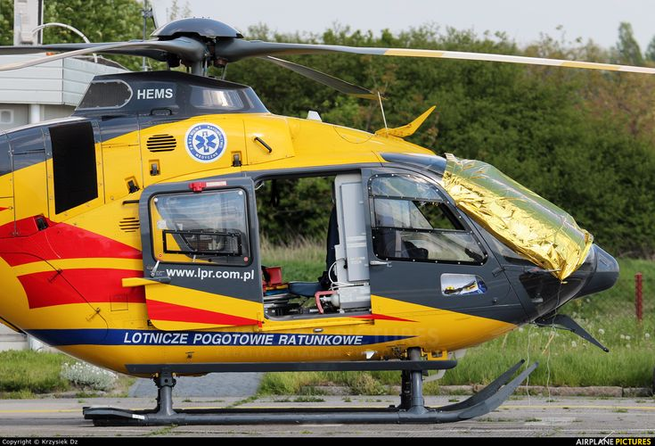 Polish Medical Air Rescue - Lotnicze Pogotowie Ratunkowe SP-HXI aircraft at Gliwice