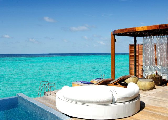 Ultimate luxury, stunningly perfect island, vibrant atmosphere, modern villas all with #private plunge pools, ideal for #couples. More information about Resort Visit Link...  http://goo.gl/LyHS3r