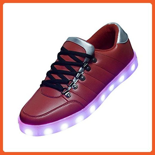 Ashlen Womens Mens Plus USB Charging LED Athletic Shoes Unisex Luminous Sneakers - Sneakers for women (*Amazon Partner-Link)