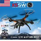 ﹩53.98. X5SW-1 Wifi FPV RTF 2.4G 4CH RC Black quadcopter Drone with HD Camera UAV Gifts    Connectivity - Wifi, Country/Region of Manufacture - Hong Kong