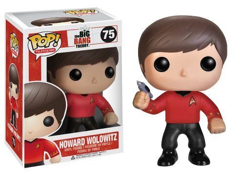 Howard Wolowitz 3.9 Funko POP! Big Bang Theory x Star Trek Vinyl Figure @ niftywarehouse.com #NiftyWarehouse #Geek #Fun #Entertainment #Products
