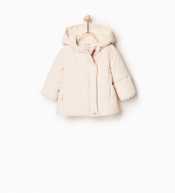 Quilted coat with hood-OUTERWEAR-Baby girl-Baby   3 months - 3 years-KIDS   ZARA United States