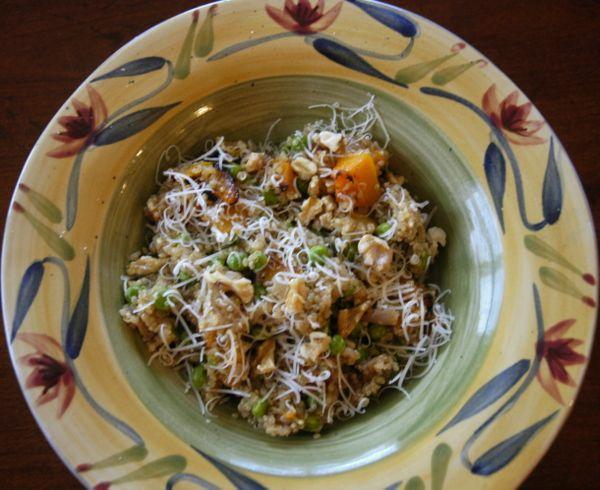 Recipe: Quinoa Butternut Squash Risotto