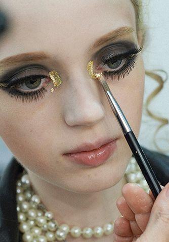 Chanel Cruise 2014/15 making of lookbook ...makeup resort Dubai