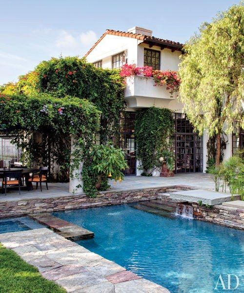 Mediterranean Revival Designs Curated By Los Angeles: 138 Best Pools Images On Pinterest