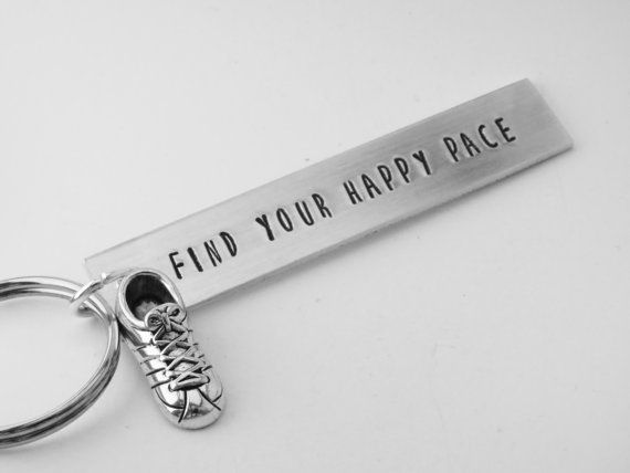Hey, I found this really awesome Etsy listing at https://www.etsy.com/listing/206863960/running-keychain-cross-country-running