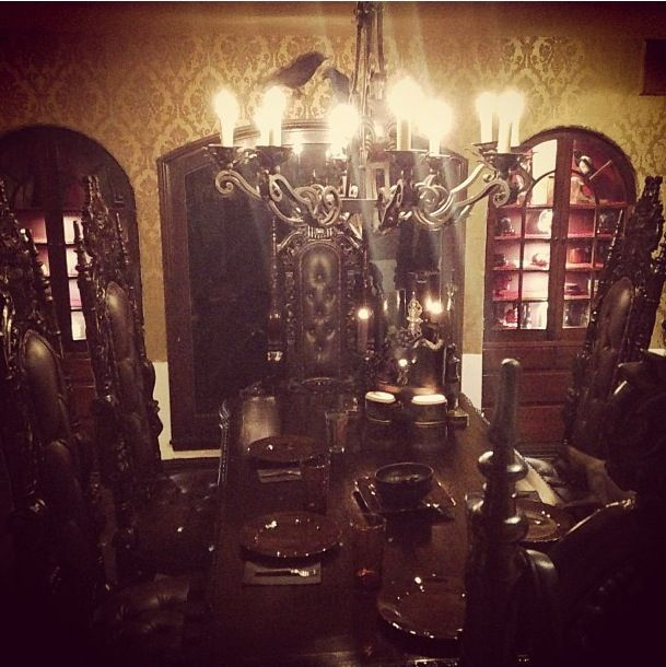 25 best ideas about kat von d house on pinterest exotic for Haunted dining room ideas