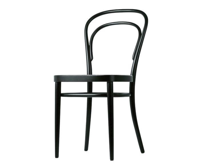 Thonet 214 & Thonet 209 - Silla café ¡Thonet Kaffeehausstuhl – todo un ícono del diseño! La famosa silla 214 de la casa Thonet fue uno de los primeros muebles de fabricación industrial. En el año 1859, Thonet creó la famosa silla de café Thonet Kaffeehausstuhl, revolucionando para siempre la fabricación de mobiliario de asiento. http://www.topdeq.es/topdeq/ProductDetail.action?R=8799181570049&N=4235