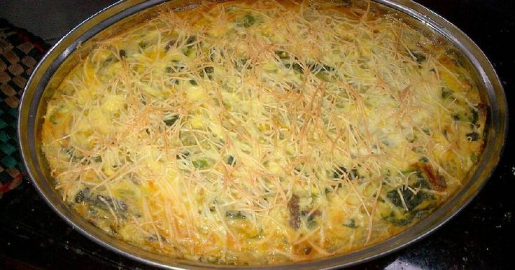 Resep Schotel bihun&sayuran simple praktis🍝🌽🍀🌱🍨😋 favorit.