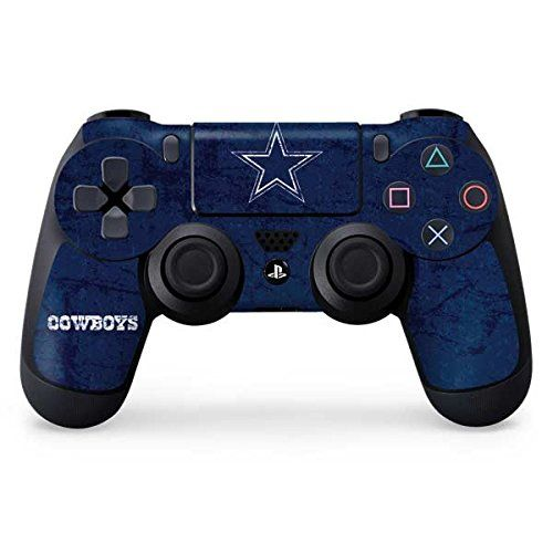 NFL Dallas Cowboys Distressed Skin for Sony PlayStation 4/ PS4 Dual Shock4 Controller