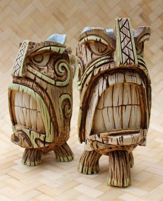 Vantiki's Tiki Oasis 2011 pieces -- Tiki Central