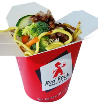 Mongolian Beef: Thick egg noodles with lean beef & fresh vegetables in an tasty traditional Mongolian sauce.