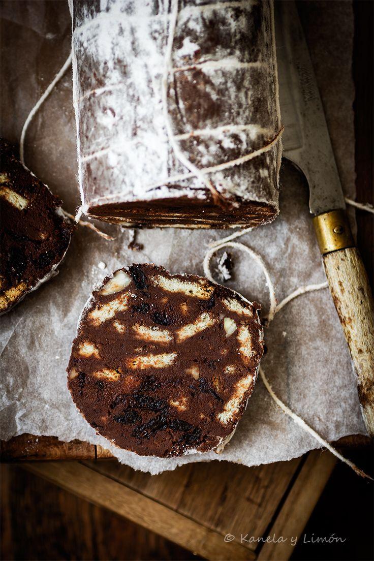 Kanela y Limón: Salami de chocolate
