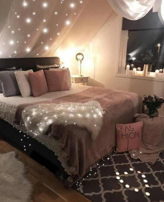 Pink White And Grey Girl S Bedroom Pastel Bedroom Decor Inspiration Small Bedroom Ideas B Pink Living Room Decor Bedroom Decor Inspiration Pink Living Room