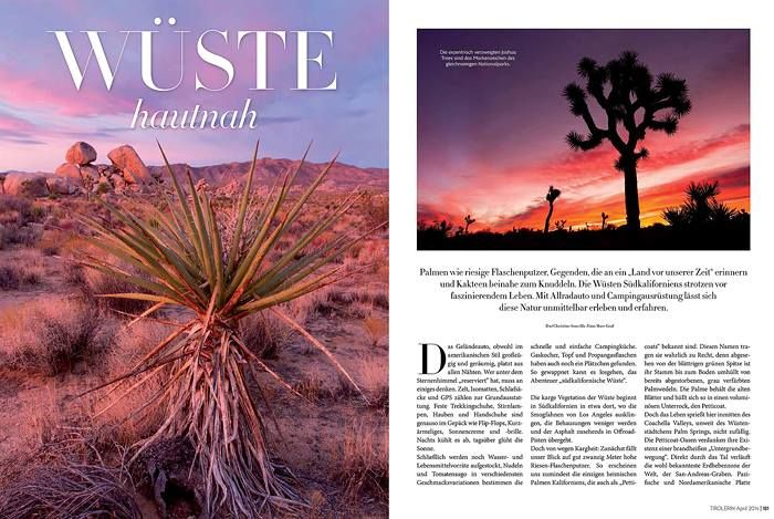 New publication in the Austrian mag TIROLERIN published.