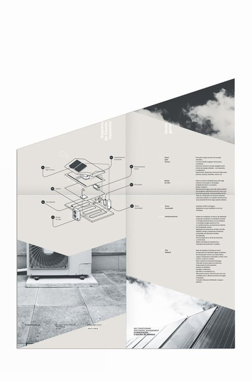 fold brochure / 3R by gen design studio , via Behance