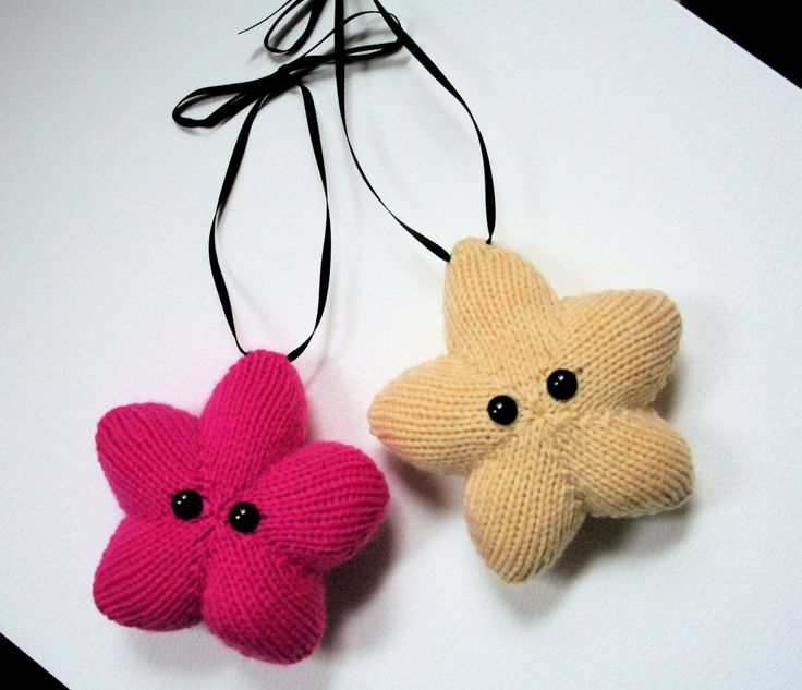 Knit your own Amigurumi Christmas Stars pdf by ButterflyLove1, $2.00