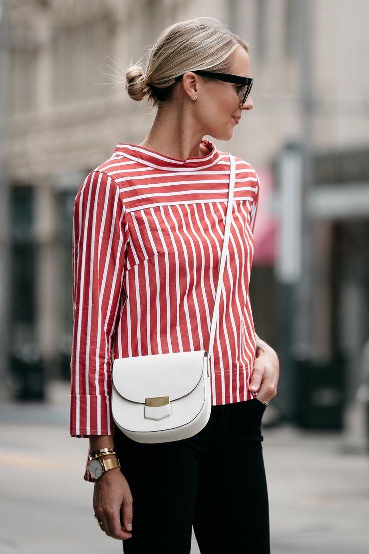7 Maneras De Usar Una Blusa Rayada Blanca Y Roja Para Esta Primavera | Cut & Paste – Blog de Moda
