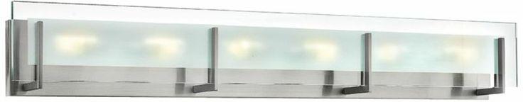 Latitude Modern Chrome 5 3/4-Inch-H Hinkley Bathroom Light - #EU3P965 - Euro Style Lighting