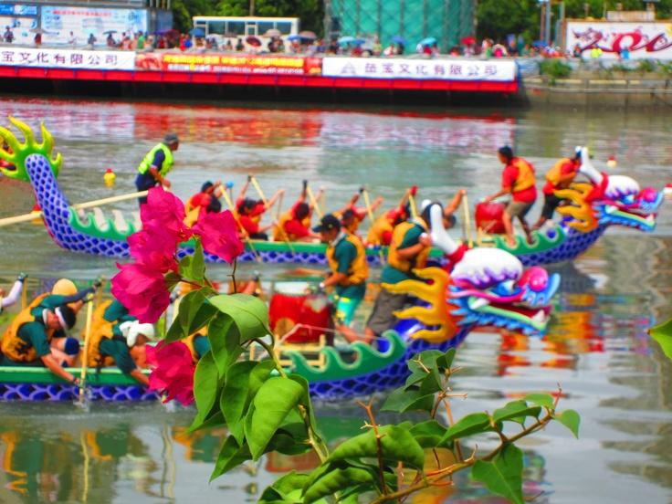 Dragon boat festival in Kaohsiung Taiwan