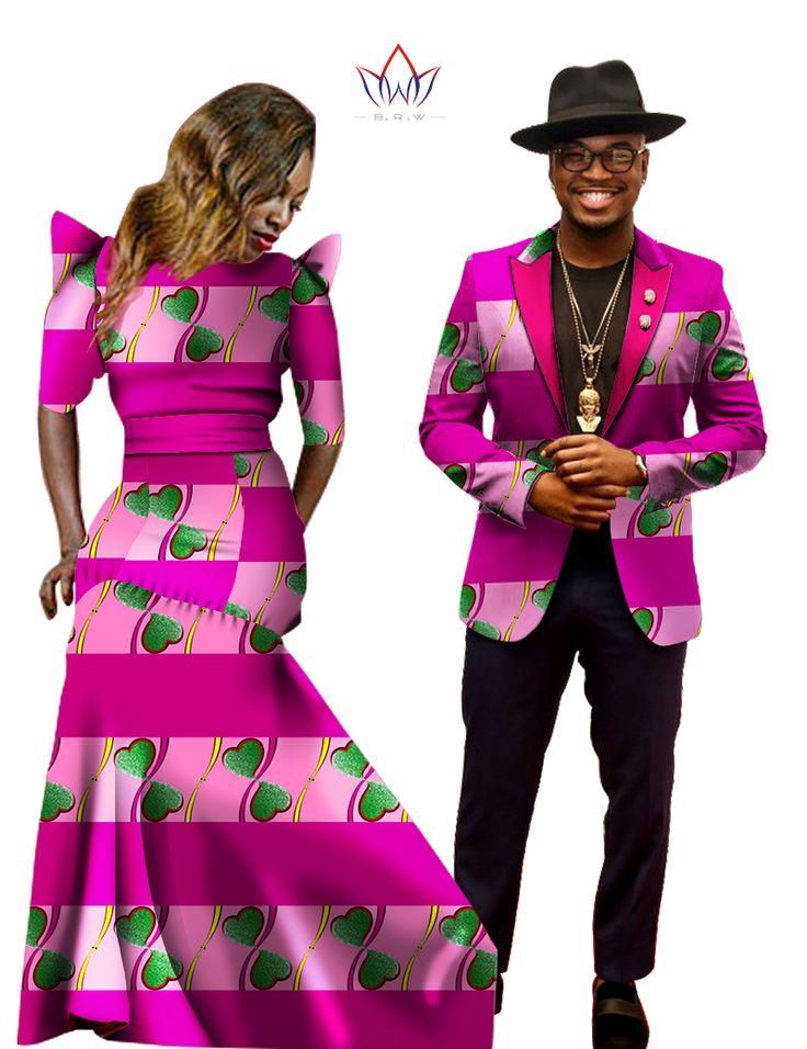 فستان فساتين الأفريقي للمرأة الأفريقية بازان الثراء المرأة ماكسي اللباس الرجال سترة ضئيلة تناسب سترة الرجال عارضة زائد حجم 6xl WYQ04